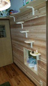 愛猫ちゃん用階段状ステップ