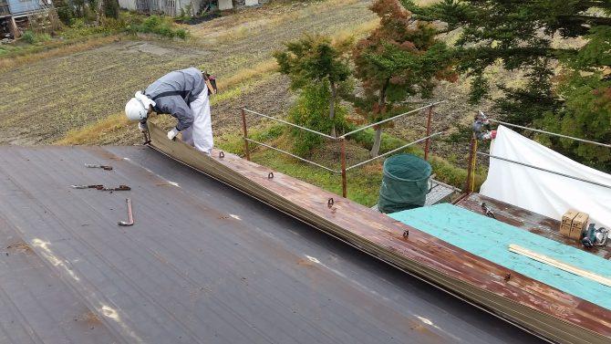 屋根替工事